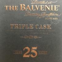 バルヴェニー 25年 40% トリプルカスク