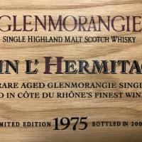 グレンモーレンジ 1975 - 2003 46% テイン・エルミタージュ