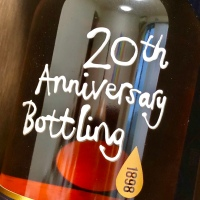 (追記あり)ベンロマック 1998 - 2018 19年 56.2% 20周年記念ボトル