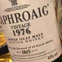 ラフロイグ 1976 - 43% オフィシャルボトル