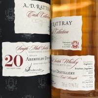 アバフェルディ 1994 - 2015、20年 53.9% A.D.ラトレー カスクコレクション cask No.4015